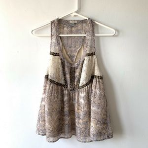 Ecote Urban Outfitters Tank Top Boho Festival Top